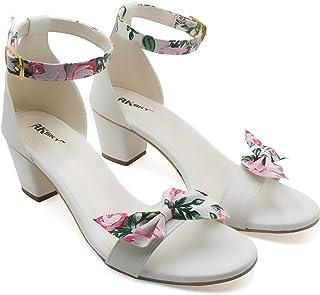 AK SKY Women Stylish Fancy and comfort Trending Block Heel Fashion sandal