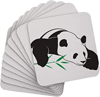 10 PCS Square Sublimation Coaster Blanks Cup Mat Sublimation Rubber Coasters Sublimation Blank Heat Transfer Cup Mat(10x10...