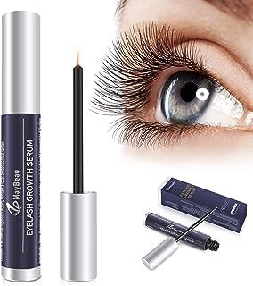 Eyelash Growth Serum,MayBeau Natural Brow Lash Enhancer(5ML),Nourish Damaged Lashes