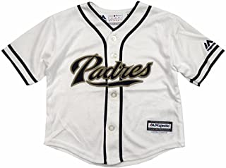 Majestic Athletic San Diego Padres MLB White Official Home Cool Base Jersey Infant