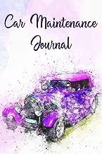 Best car maintenance journal Reviews