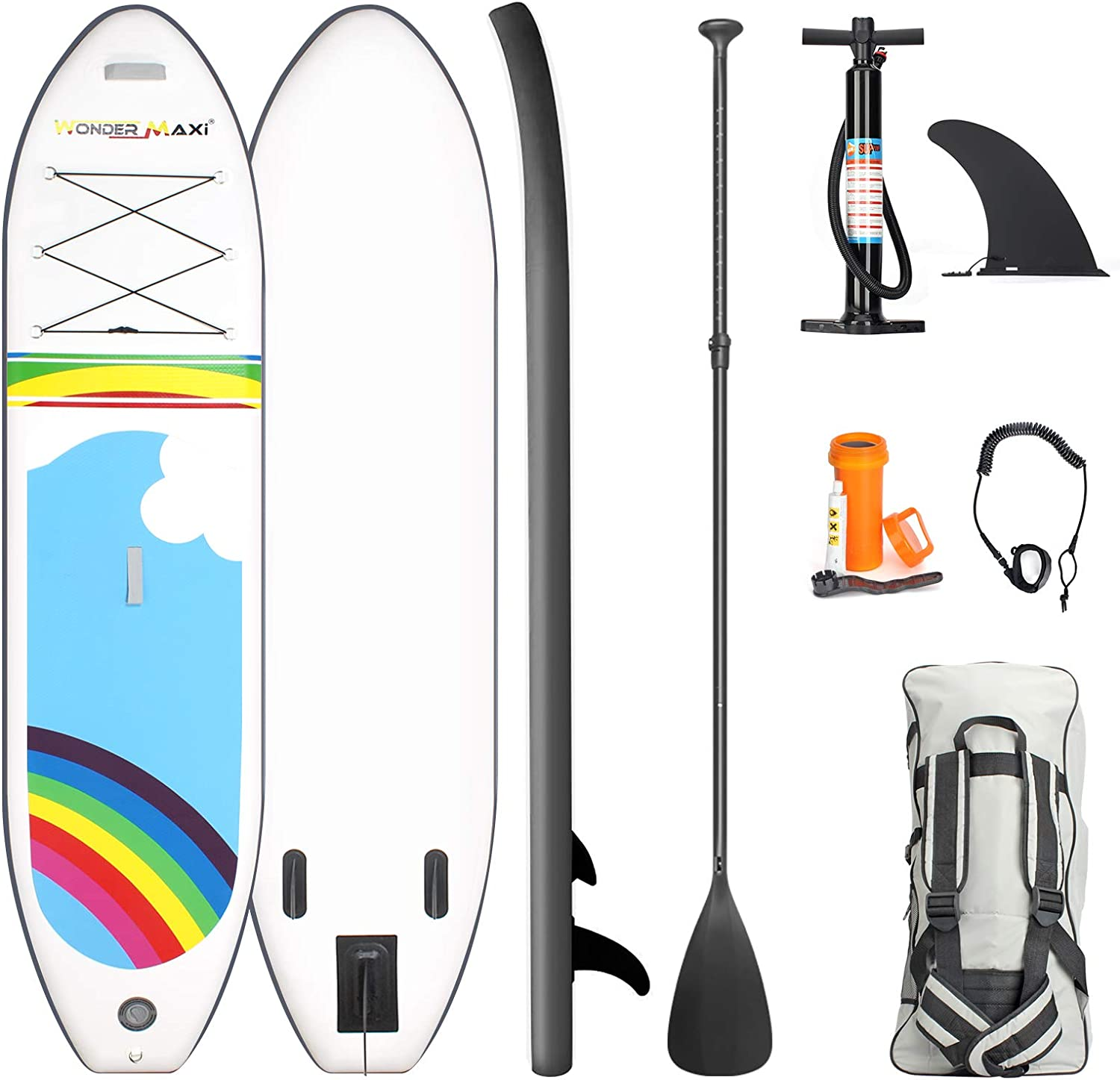 Wonder Maxi gift Inflatable Stand Up Paddle 10'6
