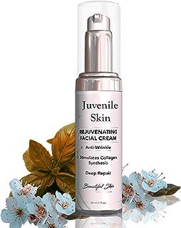 Natural Ingredients Face Cream Wrinkle Filler, Deep Repair, Hyaluronic Acid, Collagen, Vitamin C, Vitamin E, Peptides, Alo...