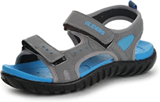 Gliders (from Liberty) Unisex Conner Blue Sandals and Floaters