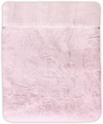 綿100% アラベスク柄タオルケット シングル サイズ ボリュームタイプ (140cm×190cm)ピンク
