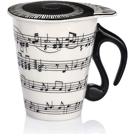 Musician Band Oval Mug Official Licensed Brand New tea Coffee Ceramic Black 15oz
