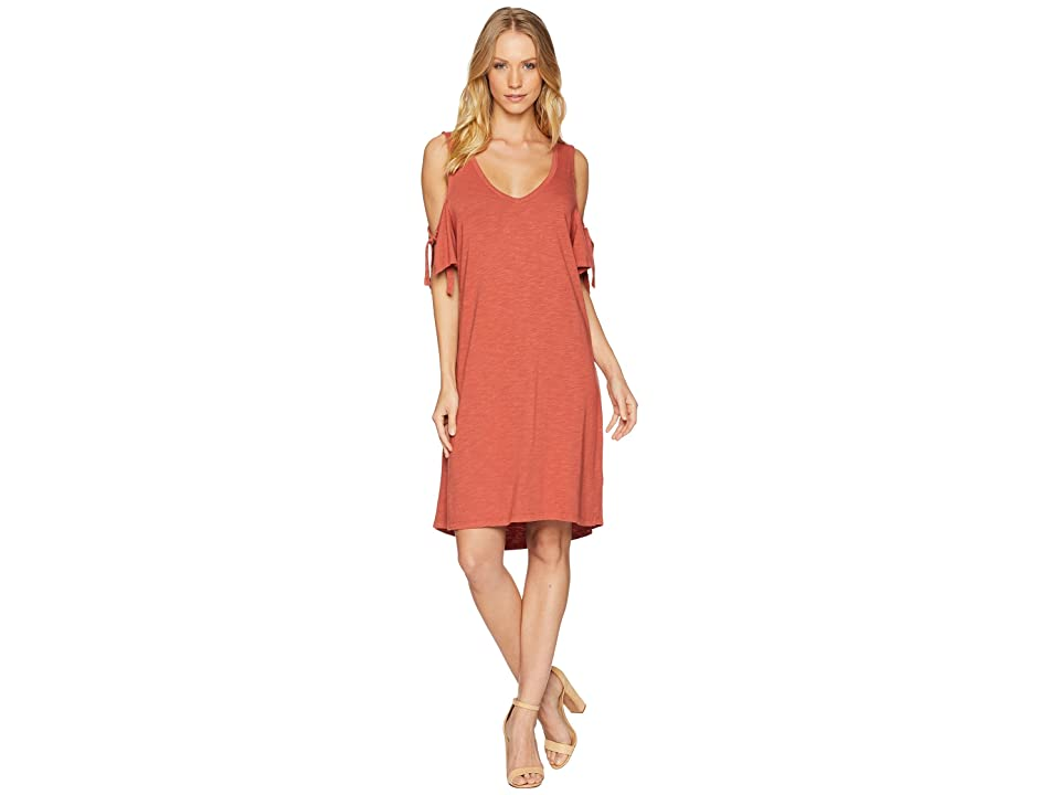 Sanctuary Lakeside T-Shirt Dress (Terracotta) Women