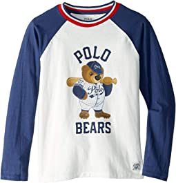 Polo Bear Baseball T-Shirt (Big Kids)