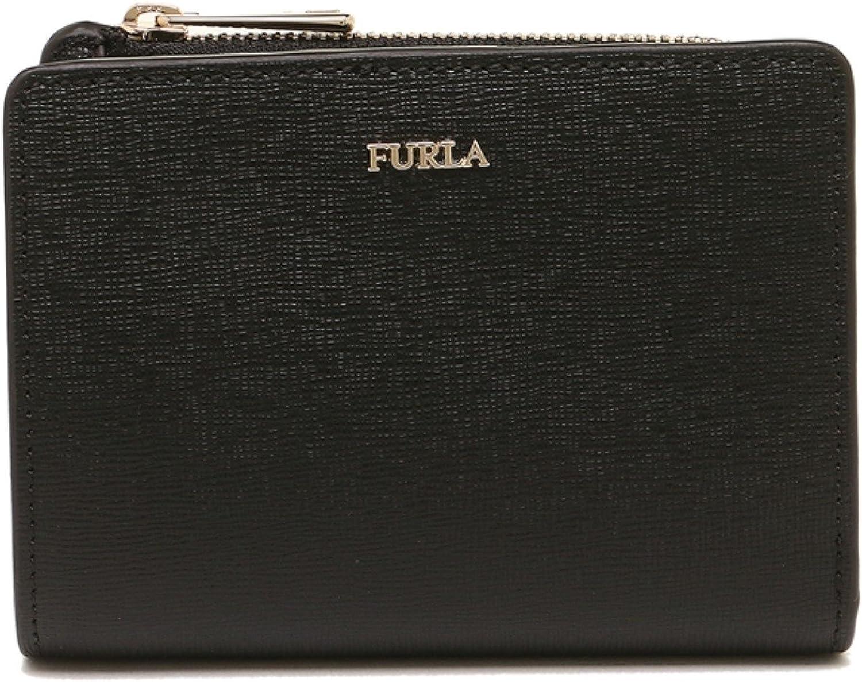 Furla Woman's Furla Babylon Bifold Black Saffiano Wallet Black