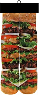 DJDesigns Custom 3D PrintedHamburgerHamburgerHamburger! Socks