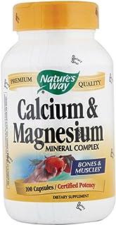 Nature's Way Calcium-Magnesium, 100 Capsules