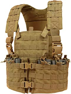 condor molle modular chest rig hydration carrier