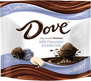 Dove Promises Cookie Crisp and Milk Chocolate Candy Bag, 7.61 Oz