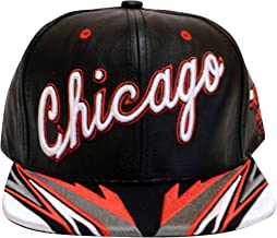 black and gray chicago bulls snapback