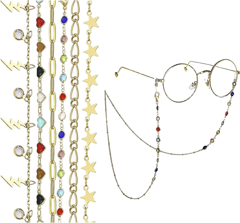 Mask Manufacturer regenerated product Max 57% OFF Eyeglasses Chain Holder Women Glasses Lanyard Hanging Set C