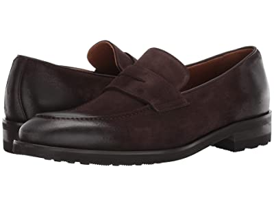 Bruno Magli Bryan (Dark Brown Suede) Men