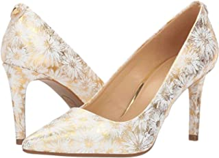 Michael Michael Kors Womens Dorothy Leather Pointed Toe Classic Pumps