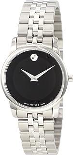 Movado - 606505 0606505 - Reloj, Correa de Acero Inoxidable Color Plateado