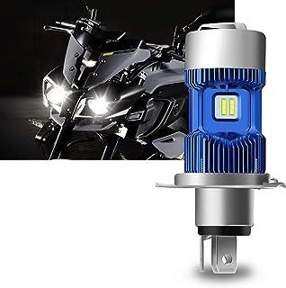 WinPower - H4 (P43t)/ HS1 LED Kit de conversión de la bombilla de los faros de motocicleta - 30W 5500Lm 6000K Super brillante Xenón Blanco Hi/Lo faro de motocicleta DC 12V, 1 lampara