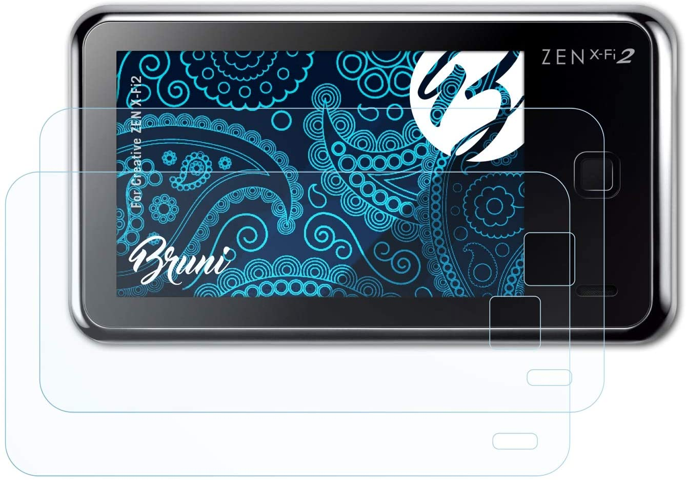 low-pricing Bruni Screen Protector shop Compatible with X-Fi2 Creative Protec Zen