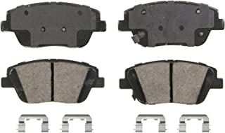 Wagner QuickStop ZD1444 Ceramic Disc Pad Set Includes Pad Installation Hardware, Front