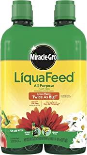 Miracle-Gro 1004325 LiquaFeed All Purpose Plant Food Refill Pack (Does not Include Spoon), 16 oz. - 4 Count