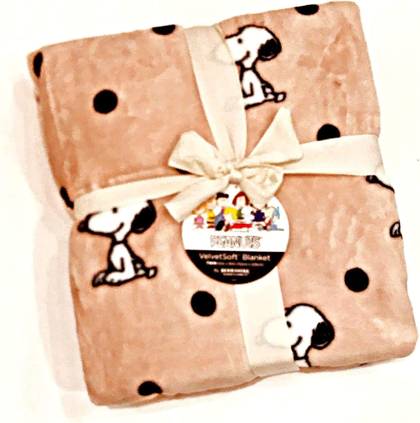 Berkshire Blanket Home Co. Snoopy Velvet Challenge the lowest price Soft We OFFer at cheap prices Plu Peanuts Gang