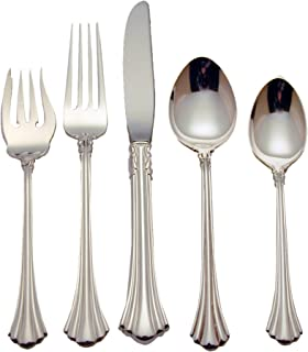 Reed & Barton 18th Century Sterling Silver 5-Piece Place Setting, Service for 1