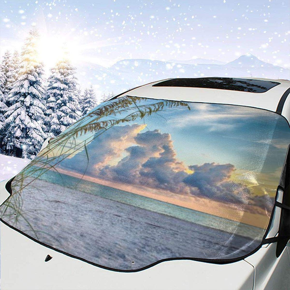 Coud Car Windshield Now 25% OFF on sale Sun Shade Sunshade-Keep Coo Vehicle Your