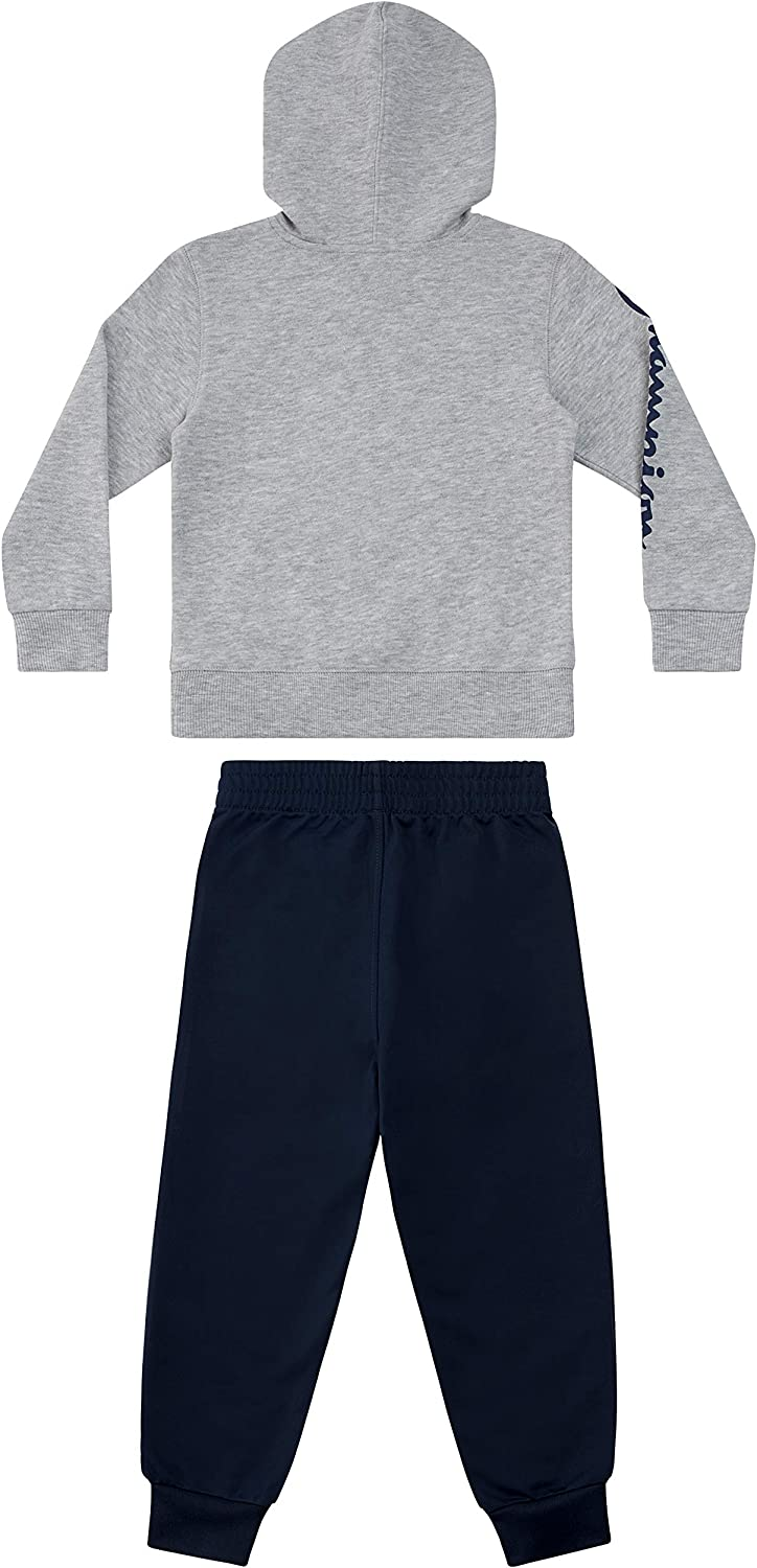 Champion Boys Two Piece Athletic Fleece Top Tricot Bottom Set Kids Clothes: Clothing, Shoes & Jewelry