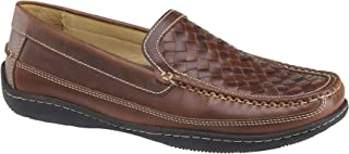 Johnston & Murphy Men's Fowler Woven Venetian Fowler Woven Venetian Slip-on Shoe-Size 9-Brown
