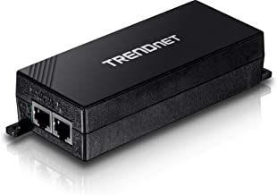 TRENDnet Gigabit Power Over Ethernet Plus Injector, Converts Non-Poe Gigabit to Poe+ or Poe Gigabit, Network Distances Up to 100 M (328 ft.), TPE-115GI