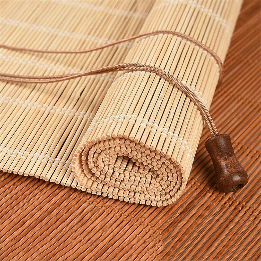 悲しいことにドメインポンペイ屋内および屋外のリビングルームの寝室に適した天然竹製ローラーブラインド、天井または壁の設置-70/80/90/100/110/120/130 / 140cm幅 (Size : 80x120cm)