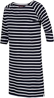 REGATTA Women's Hatsy' Boat Neck Casual Skirts and Dresses, Navy, 16