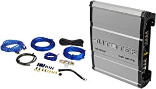 Autotek SS1000.2 Super Sport 1000w 2-Channel Car Amplifier Class A/B + Amp Kit