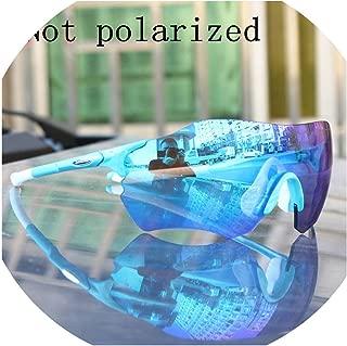 onebanana Full red Lens TR90 Sports Polarized Cycling Glasses Men MTB Mountain Road Bike Bicycle Eyewear Sunglasses Goggles Gafas Ciclismo