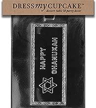 Dress My Cupcake DMCG013 Chocolate Candy Mold, Happy Chanukah Card Hanukkah
