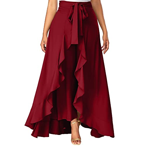 b2dc4a1f6fcb Ruffle Skirt: Buy Ruffle Skirt Online at Best Prices in India ...