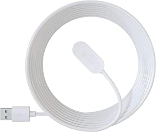 Arlo Technologies Arlo Accessory - Arlo Ultra Indoor Magnetic Charging Cable | 2.4m | Compatible with Arlo Ultra, Pro 3, P...