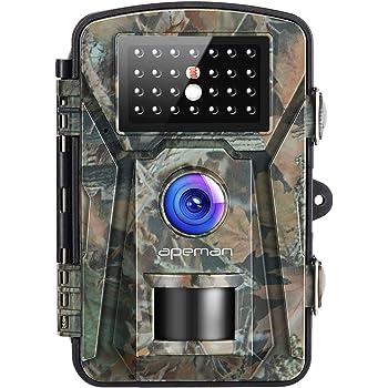 1080P 20MP Fotofalle Kamera Wildkamera JagdKamera Wasserdichte Nachtsicht IP66