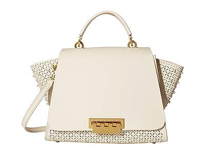 ZAC Zac Posen Eartha Soft Top-Handle Satchel (Swan) Satchel Handbags