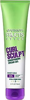 Garnier Fructis Style Curl Sculpt Conditioning Cream Gel 5 oz (Pack of 2)