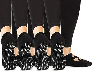 LA Active Grip Socks - Yoga Pilates Barre Non Slip - Pointe