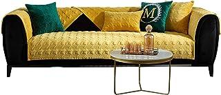 Couverture du canapé de protecteur de meubles Coussin peluche peluche canapé antidérapant coussin de coussin de coussin de...