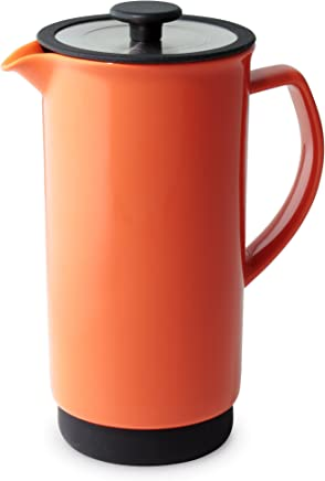 Forlife FL/344-CAR Cafe Style Coffee/Tea Press, 946 ml, Carrot