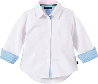 Tommy Hilfiger Girls' Solid Oxford Shirt