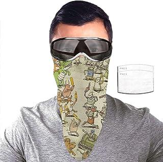 Balaclava,Face Cover,Mouth Guard,Scarf,Outdoor Bandanas Fashion Masks,Neck Gaiter Dance Gavin Dance Instant Gratification