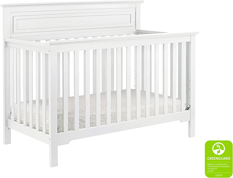 DaVinci Autumn 4 In 1 Convertible Crib In White Greenguard Gold Certified
