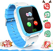 Kids Smartwatchs for Boys Girls - Smart Watch LBS Tracker Child Watch Phone Digital Wrist Watch SOS Anti-Lost Alarm Camera Flashlight Phone Watch Kid Watches Electronic Toy for Android/iOS