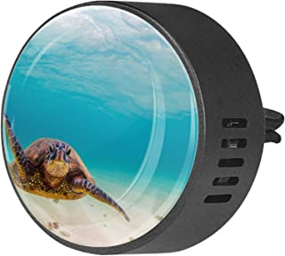 2 pièces diffuseur d'aromathérapie diffuseur d'huile essentielle de voiture pince d'aération sous-marine tortue de mer Ani...